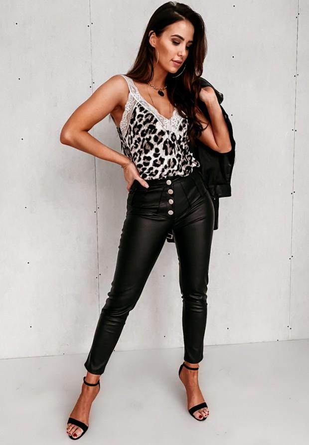 Spodnie Woskowane Loya Black