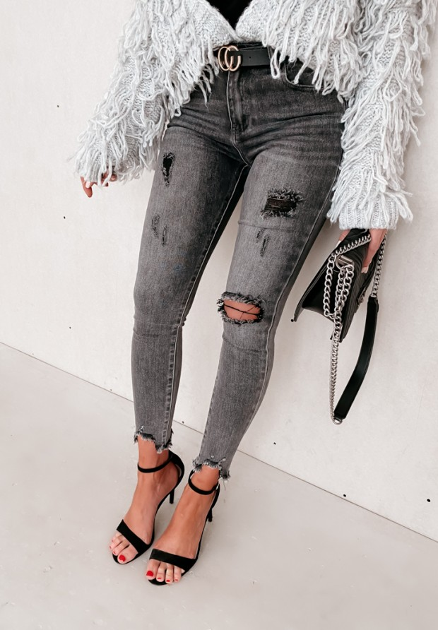 Spodnie Regan Jeans Dark