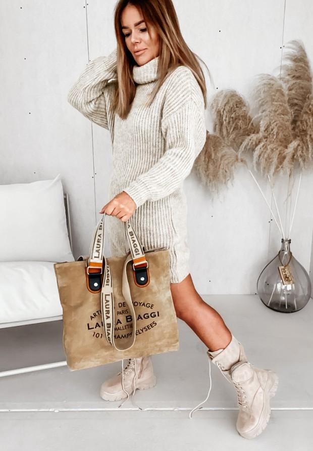 Sweter Sukienka Lorri Beige