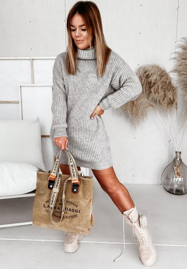 Sweter Sukienka Lorri Grey