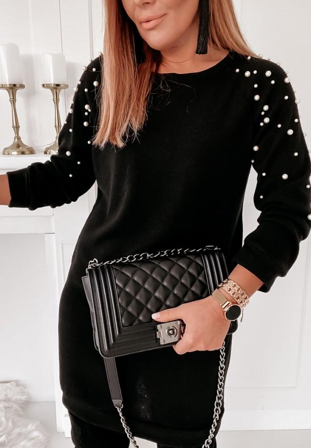 Sukienka Pearls Black