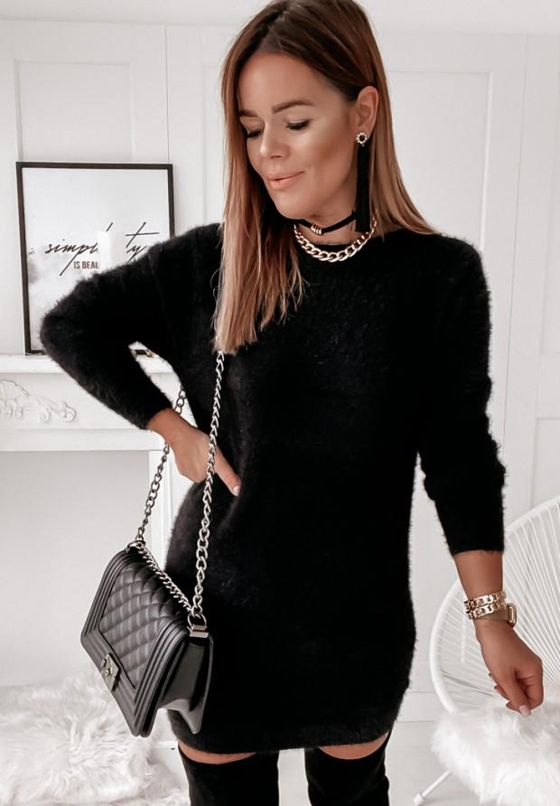 Sukienka Sweter Pollie Black