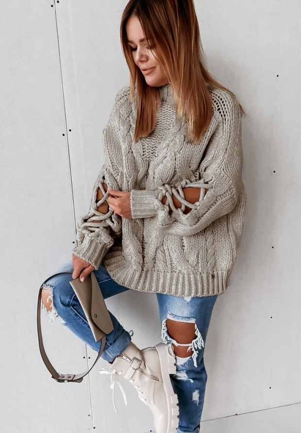 Sweter Cocomore Casual Mokka