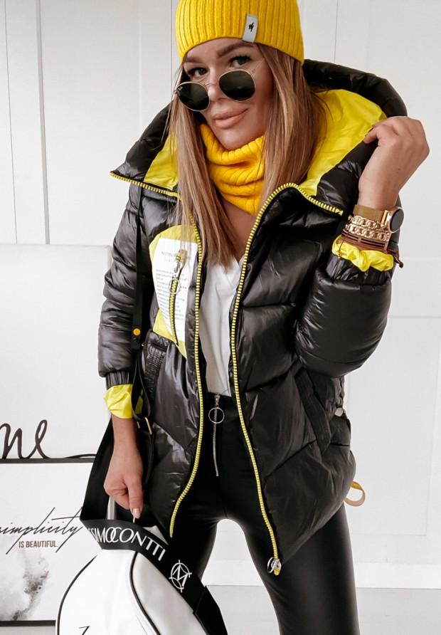 Kurtka Marbli Black&Yellow