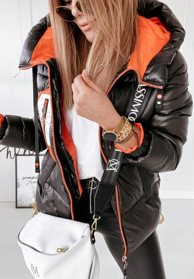 Kurtka Marbli Black&Orange