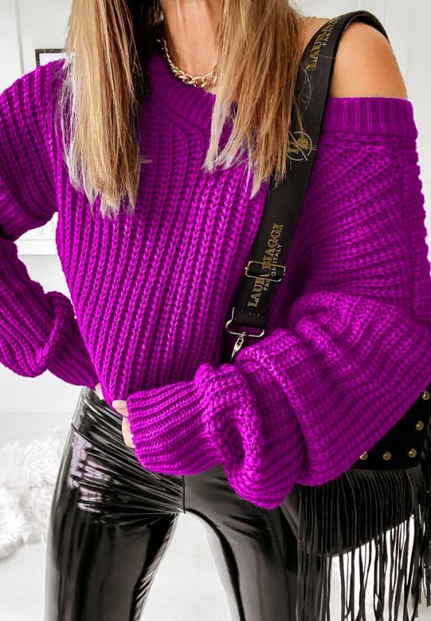 Sweter Hevin Plum