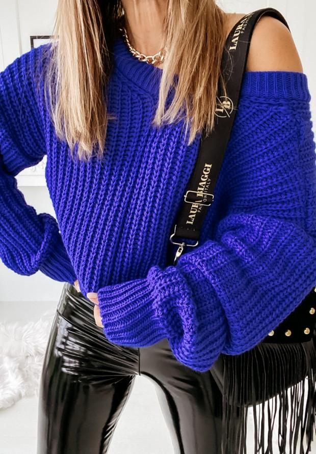 Sweter Hevin Cobalt