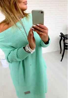 Sweter Malibu Mięta