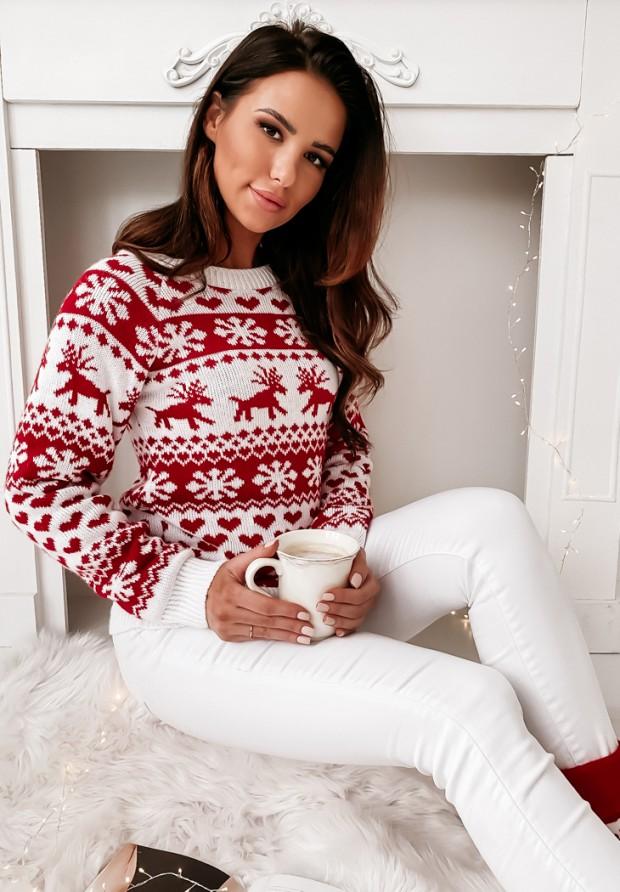 Sweter Winter White