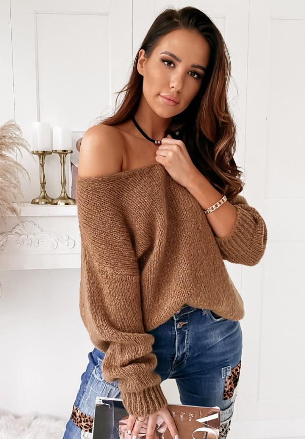 Sweter Roxanne Camel