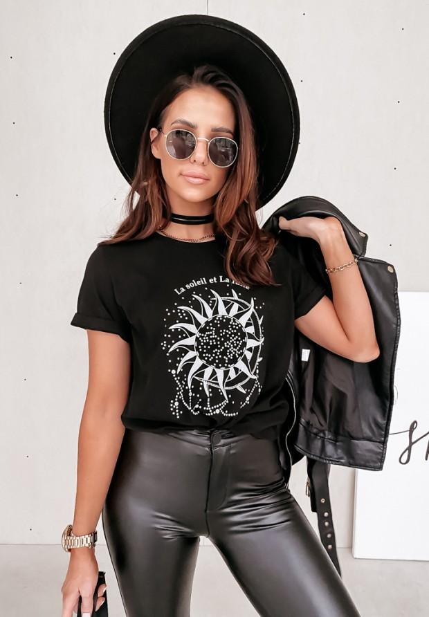 T-shirt La Soleil Black