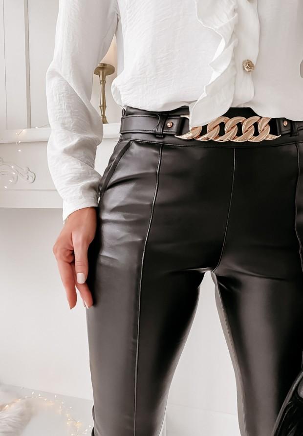 Spodnie Belt Skin Black