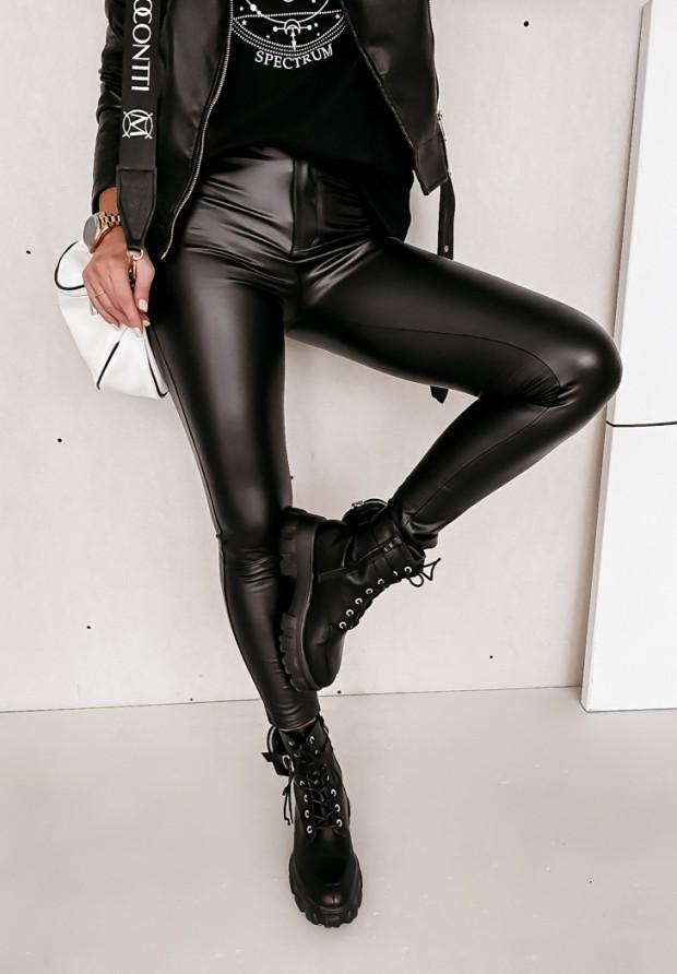 Spodnie Legginsy Roven Black