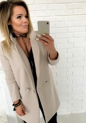 Płaszcz Simple Beż