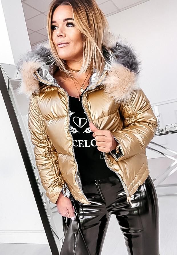 Kurtka Dwustronna Hollywood Gold