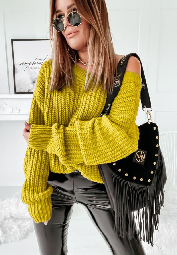 Sweter Hevin Yellow