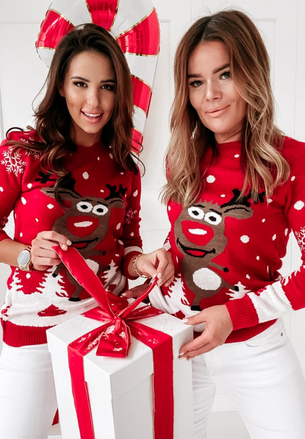 Sweter Christmas Red
