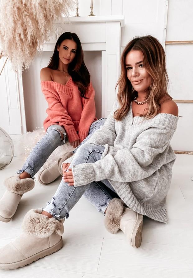 Sweter Aldonna Grey