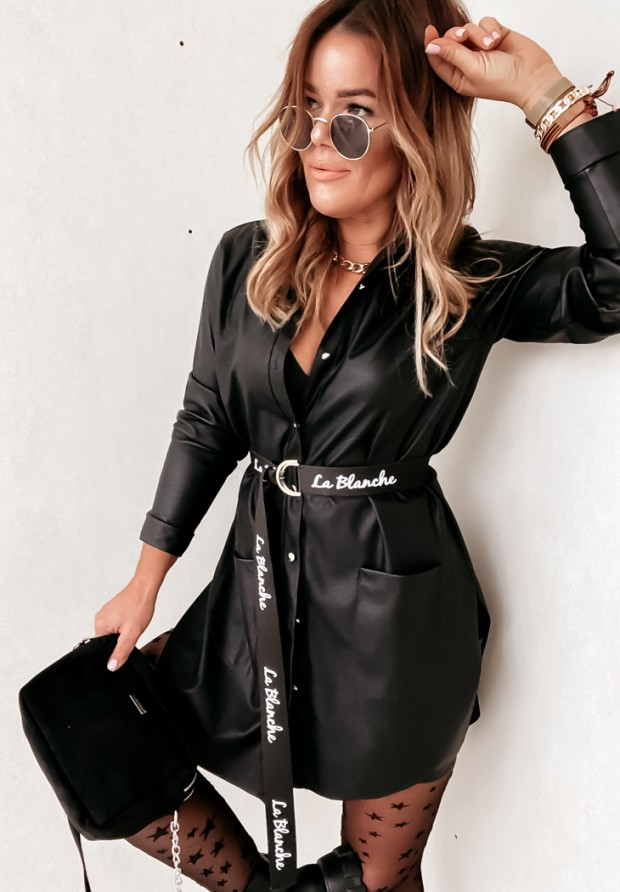 Koszula Sukienka Snug Skin Black