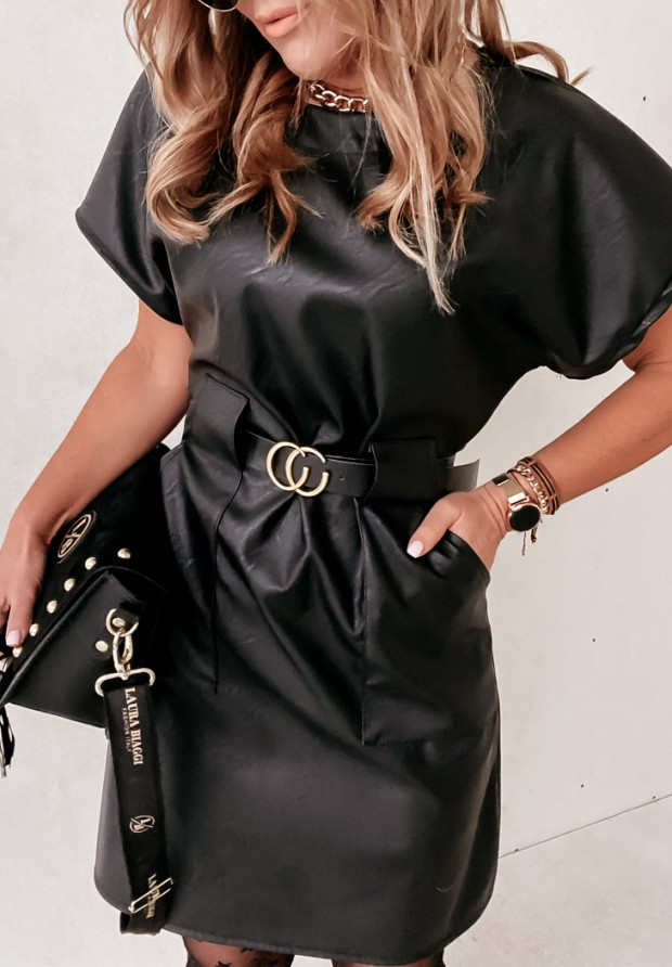 Sukienka Jenis Skin Black