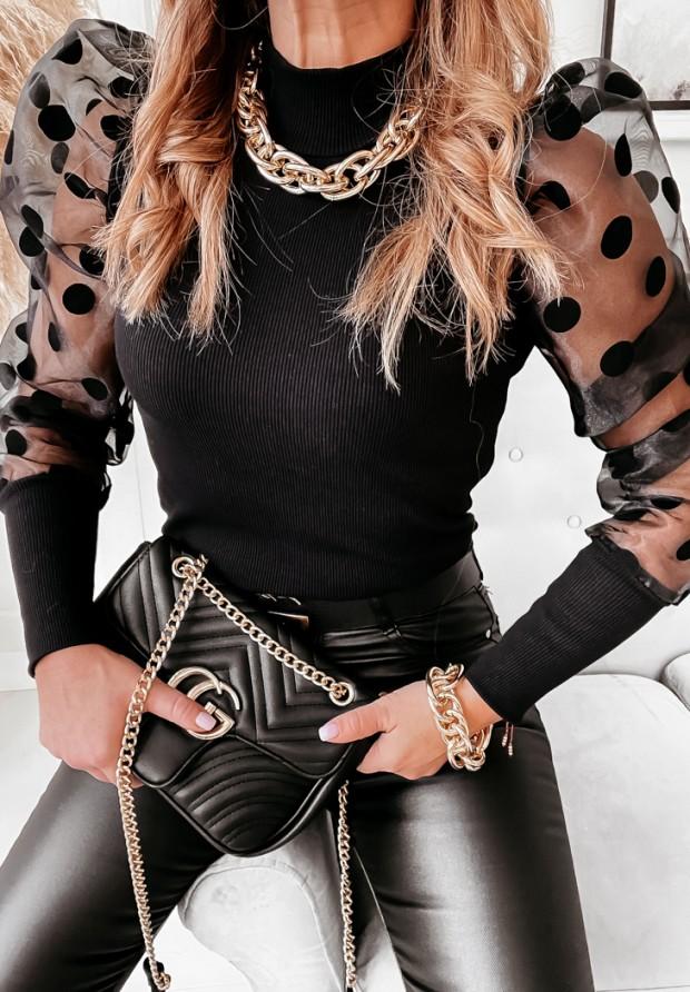 Bluzka Ledia Dots Black