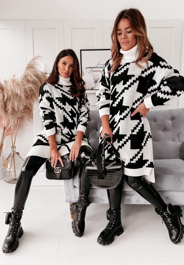 Sukienka Golf Asilas Black&White