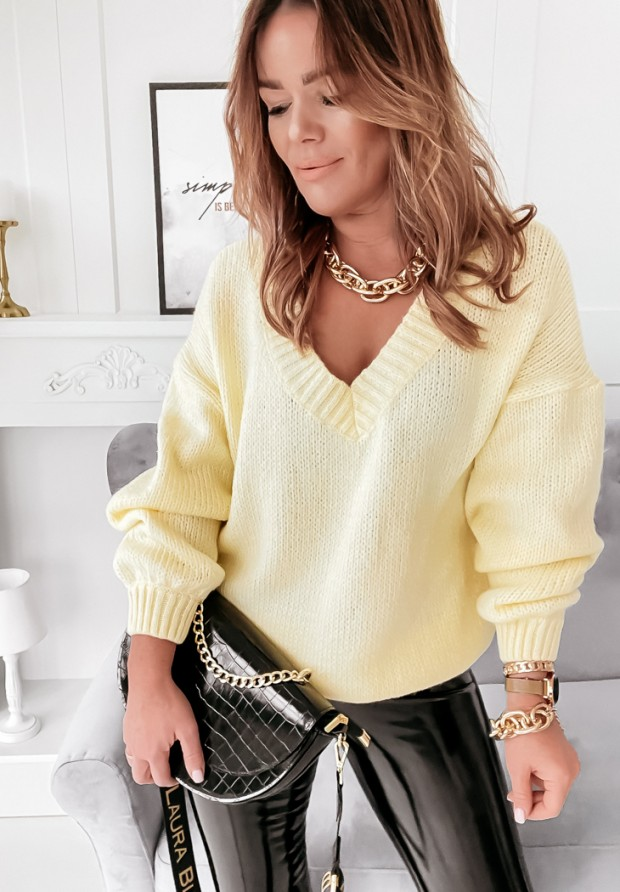 Sweter Bajni Yellow