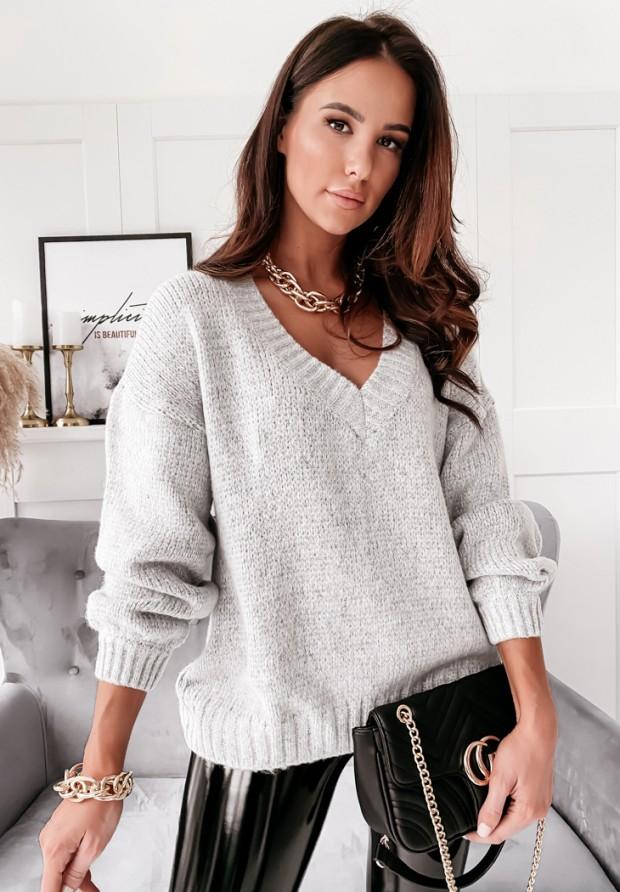 Sweter Bajni Grey