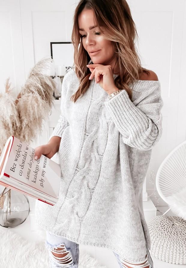 Sweter Batya Grey