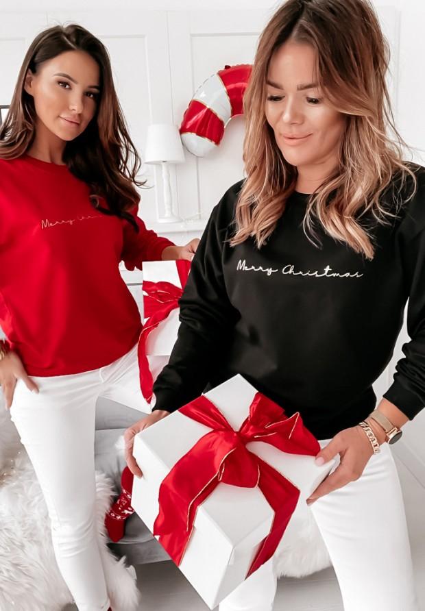 Bluza Merry Christmas Black
