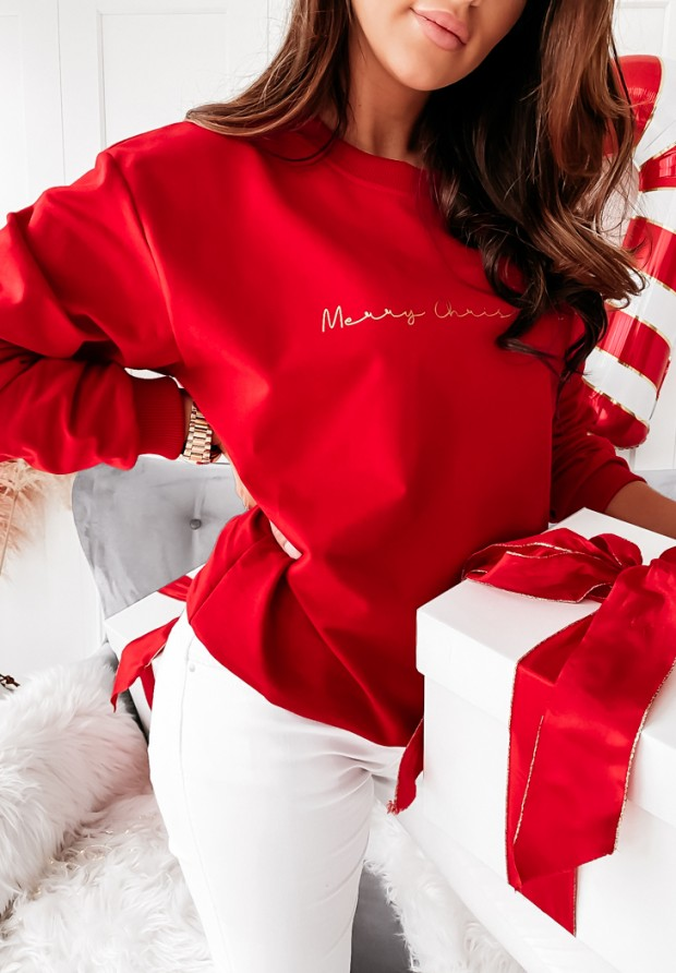Bluza Merry Christmas Red