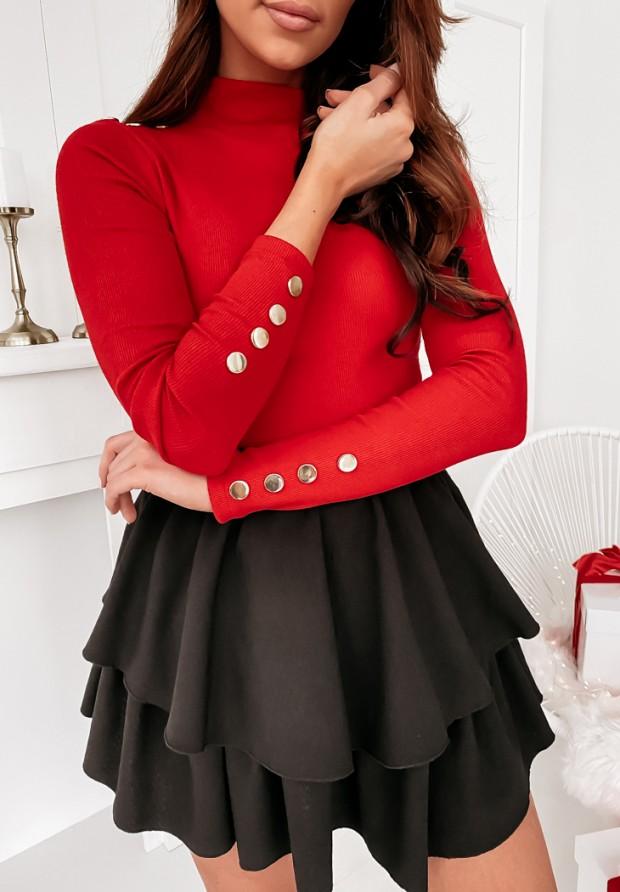 4425 Sweter Golf Pilar Czerwień