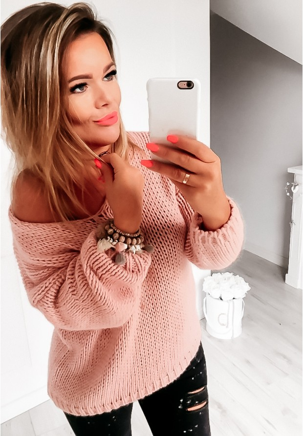 Sweter Chiocco Puder