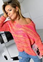 Sweter Loewe Pomarańcz