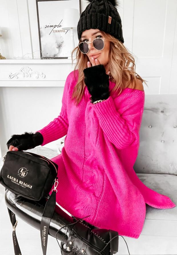 Sweter Batya Neon Róż