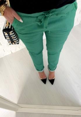 Spodnie Green Pants