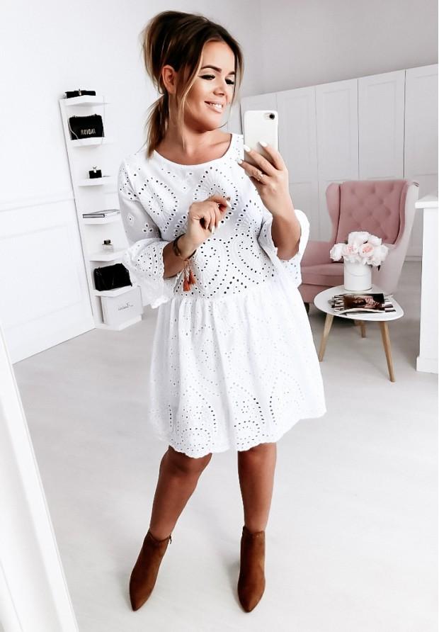 Sukienka Boho Vibes White