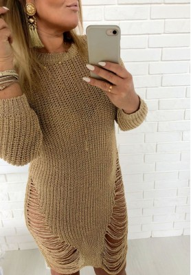 Sweter Qube Gold