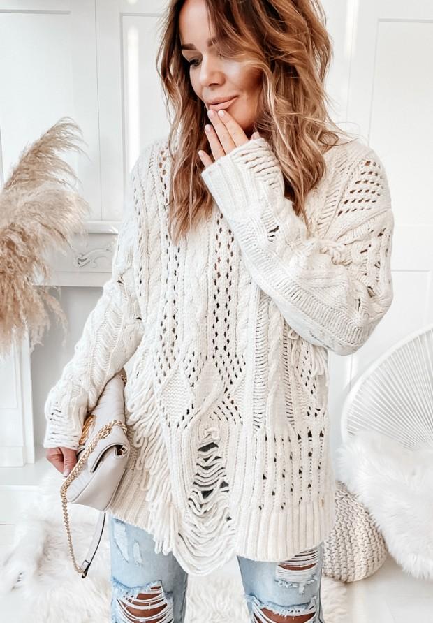 Sweter Cocomore Riani Ecru