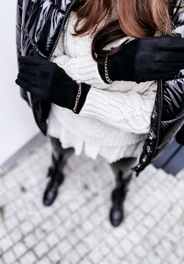 Rękawiczki Lacito Black