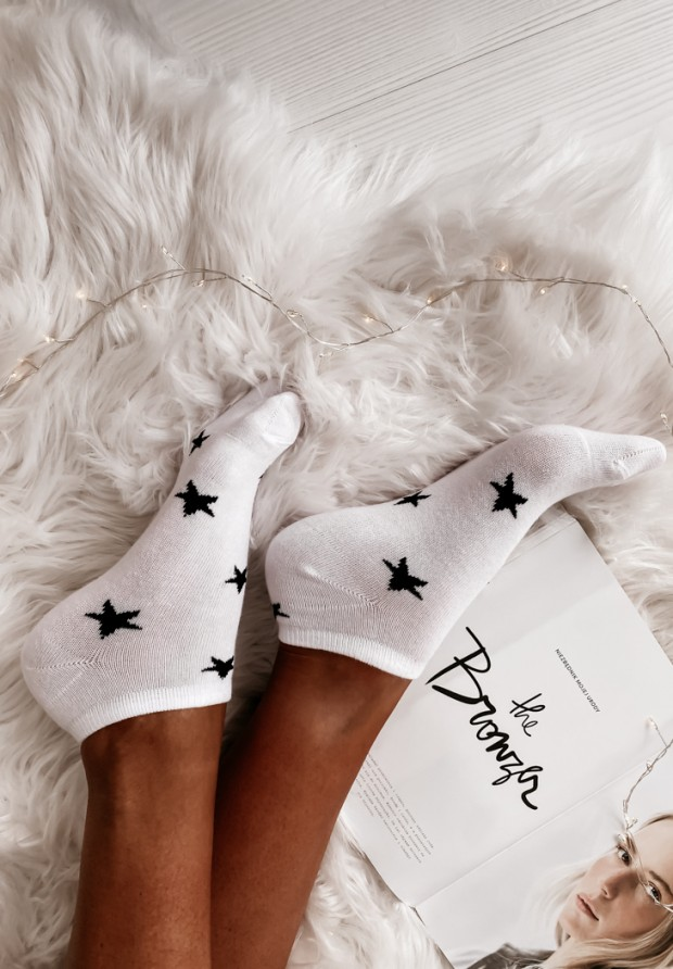 Skarpetki Star White