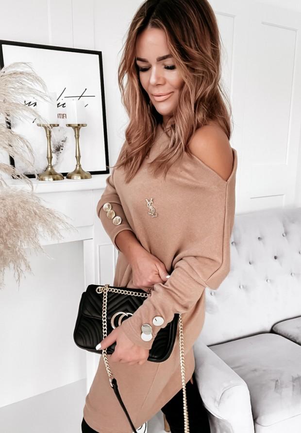Sukienka Serpia Camel