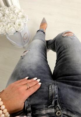 6705 Spodnie Mercury Grey
