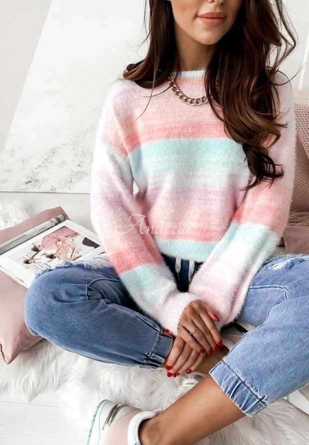 Sweter Ombre Pastel