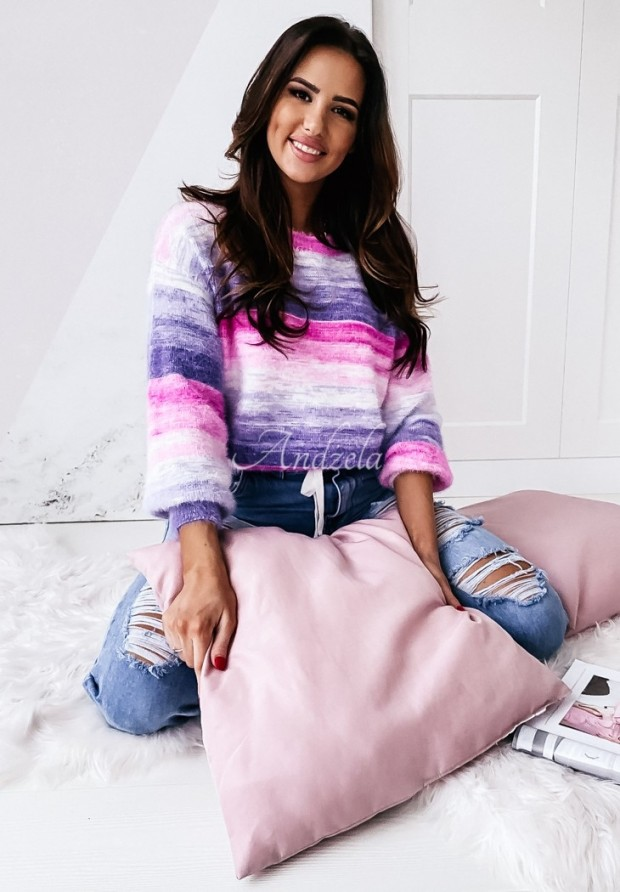 Sweter Ombre Pink