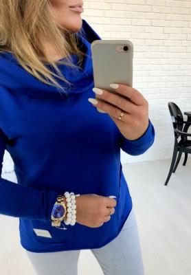 Bluza Factory  Kobalt