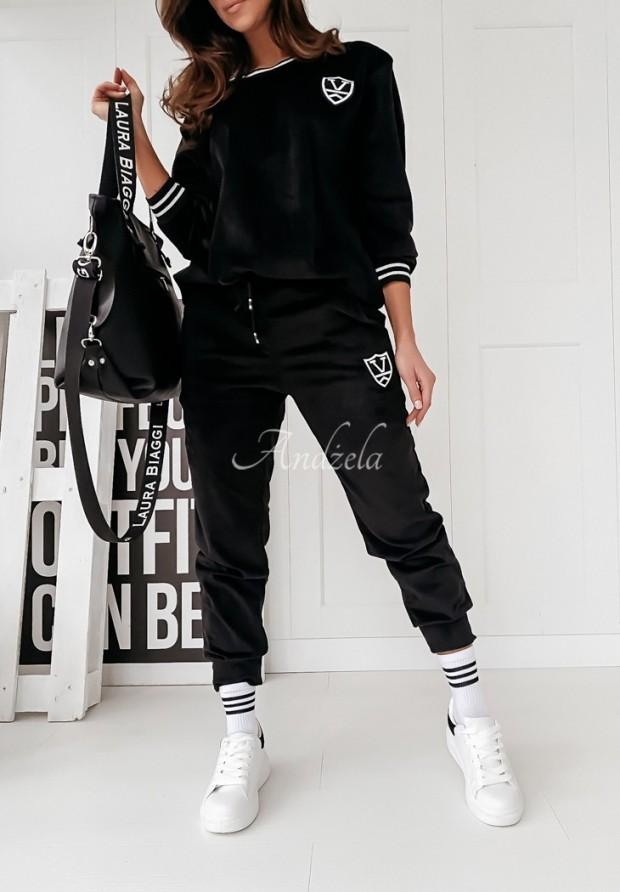 Spodnie Welurowe Torrey Black