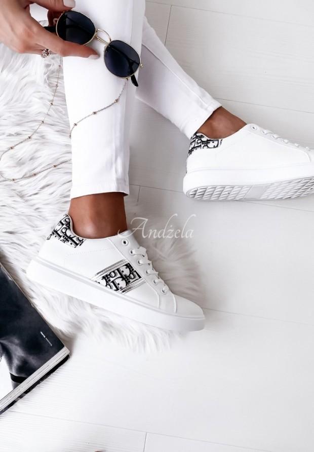 Adidasy Glow Silver&Black