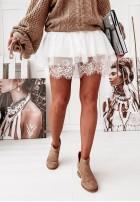 Sukienka Tunika Tiul Poppy White