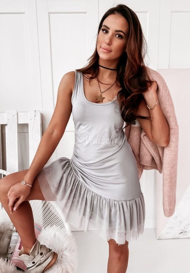 Sukienka Tunika Tiul Poppy Grey
